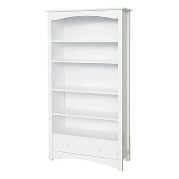 DaVinci Jayden Bookcase in White