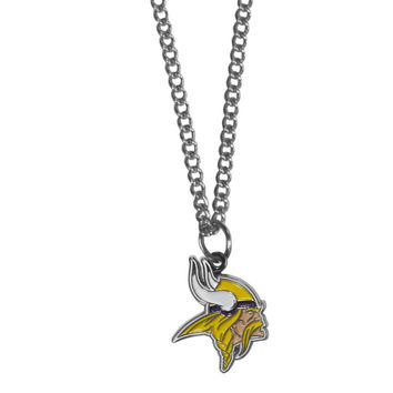 Minnesota Vikings Chain Necklace with Small Charm FN165SC