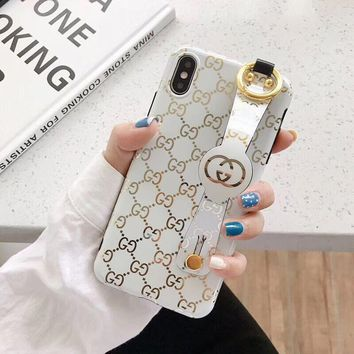 GUCCI Cover Case for iPhone 8 iPhone 8 Plus iPhone X iPhone XS iPhone XS MAX iPhone XR