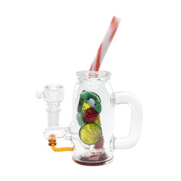 Empire Glassworks Fruity Detox Mini Bubbler | Grasscity