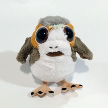 star wars new Porg bird Plush Toys Doll For kids 15cm or 28cm