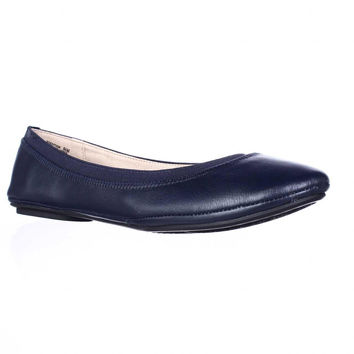 Bandolino Edition Ballet Flats - Navy Leather