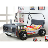 Metallic Gray Jeep Bed | zulily