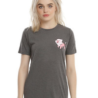 Steven Universe Pink Lion Girls T-Shirt