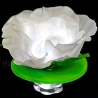 Deluxe Rose Color Change LED Floating Flower by FlashingBlinkyLights.com
