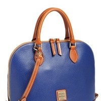 Dooney & Bourke 'Pebble Grain Collection' Water Repellent Leather Zip Satchel