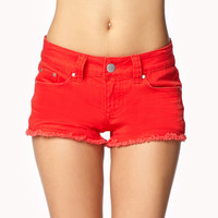 Road Trippin' Distressed Denim Shorts