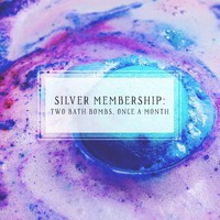 Bath Bomb Of The Month Club Silver Package Two Bath Bombs, Once Per Month