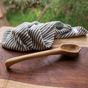 Handmade Serving Spoon Hand Carved Wooden Spoon Magnolia Wood