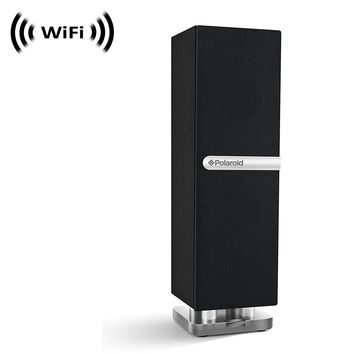 Wireless Spy Camera with WiFi Digital IP Signal, Recording & Remote Internet Access (Camera Hidden in Bluetooth Mini Desk Tower Speaker by SCS Enterprises ®