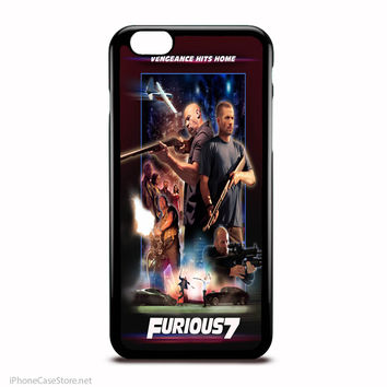 Fast And Furious In Action Poster Case For Iphone Case