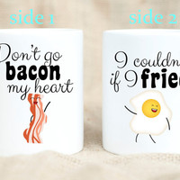 Bacon and Eggs Funny Pun Mug