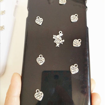 Made with Love Alice Phone Covers Case for iPhone 4 4s 5 5s for iphone 6 6s plus (Other phone models can be customized)
