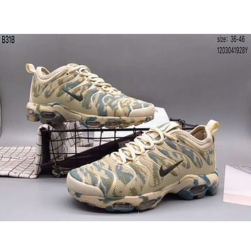 NIKE AIR MAX PLUS full palm cushion camouflage trend sports shoes F-A36H-MY