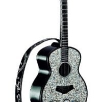 Taylor Swift Guitar Long Live Musical Heirloom Ornament 2012