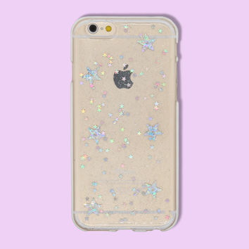 iPhone Case - Holographic Star Print