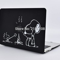 "Protective Cover Matte Hard Case Cute Cartoon Design Carry Shell Coque for Macbook Air 11 13"" Pro 12"" 15"" A1502 A1278 A1466"