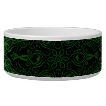 Green Kaleidoscope Bowl