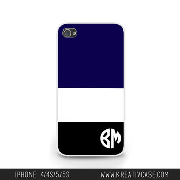 iPhone 5 Case, iPhone 5s/5C Case, Personalized iPhone Case, Custom iPhone Cover with Stripes, Phone case for me, Gift idea - K262