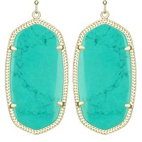 Danielle Earrings in Teal - Kendra Scott Jewelry
