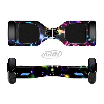 The Glowing Neon Bubbles Full-Body Skin Set for the Smart Drifting SuperCharged iiRov HoverBoard