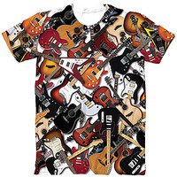Guitar Sublimated Tee