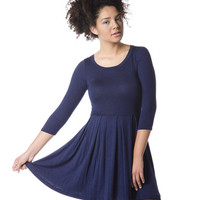 Jamie Dress in Navy - Hello Holiday