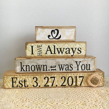 Wedding gift, bridal shower gift, wedding decor, rustic wedding, vintage wedding, wedding welcome sign, home sign, housewarming gift, love