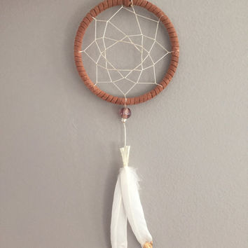 Serendipity ~ Small Dreamcatcher Wall Hanging Perfect for Car Mirrors, Lockers, Dorm Rooms, etc