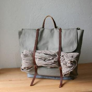 The Rucksack in Gray by infusion on Etsy