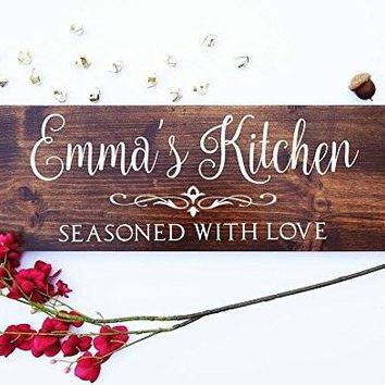 Farmhouse Sign, Personalized Welcome Family Name Sign, Custom Farm Kitchen Sign, Metal Family Farmhouse Decor .sign#73
