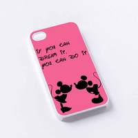 Mickey and Minnie Mouse Quotes iPhone 4/4S, 5/5S, 5C,6,6plus,and Samsung s3,s4,s5,s6