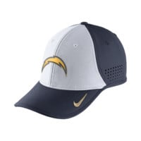 Nike Legacy Vapor Mesh Back (NFL Chargers) Fitted Hat (Blue)