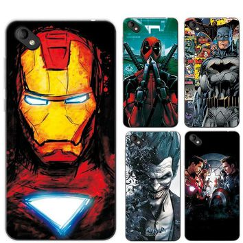 Deadpool Dead pool Taco Charming Painted Case Cover For BQ 5035 5.0 inch Marvel Avengers Captain America  Funda For BQ BQ-5035 Phone+ Gift AT_70_6