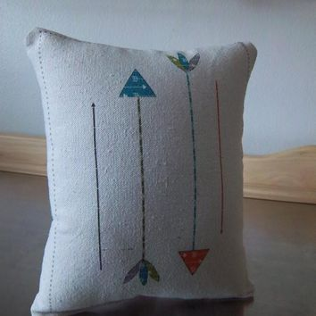 Arrow Throw Pillow Adventure Nursery Pillow Playroom Decor