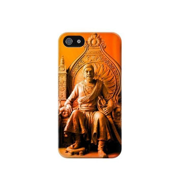 P1104 Shivaji Maharaj Comes Marathas Case Cover For IPHONE 4/4S