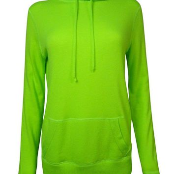 Polo Ralph Lauren Women's Solid Knit Cashmere Hoodie