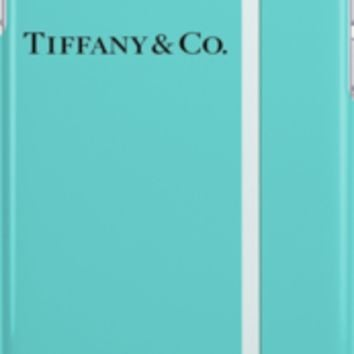Tiffany & Co. Classic Blue Box and Ribbon iPhone Cases & Skins