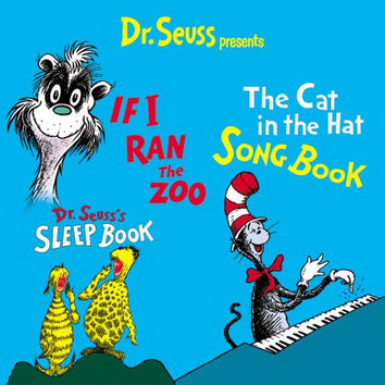 Dr. Seuss Presents Cat In The Hat Songbook, If I Ran The Zoo, Dr. Seuss' Sleep Book