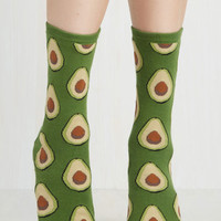 Quirky Good to Avocado Socks by ModCloth