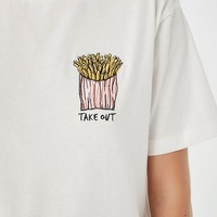 Takeout French Fries Tee | Urban Outfitters