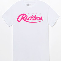 Young & Reckless Big R Script White T-Shirt at PacSun.com