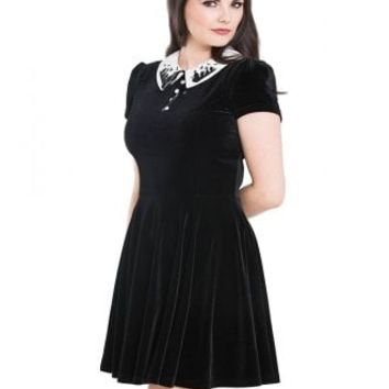 3c0c332f97ab Hell Bunny Graveyard Gothic Mini Dress | Attitude Clothing