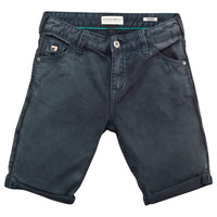 Scotch & Soda boys Faded Black Denim Shorts