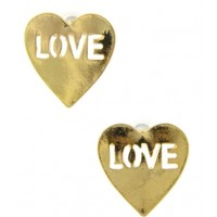 Heart Love Sign Earrings