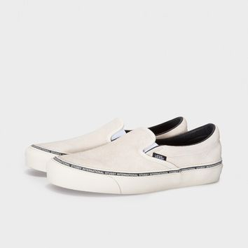 VANS OG CLASSIC SLIP-ON LX - BIRCH