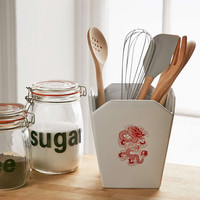 Takeout Box Utensil Holder - Urban Outfitters