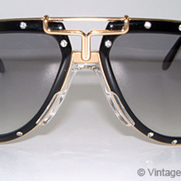 Vintage Sunglasses – Product Details: Cazal 642 - Limited Crystals Edition