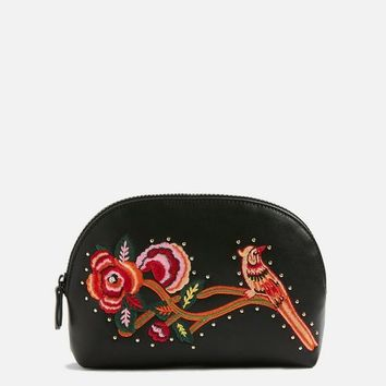 Bird Embroidered Makeup Bag | Topshop