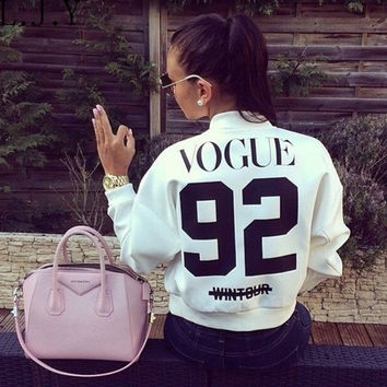 White Vogue Jacket